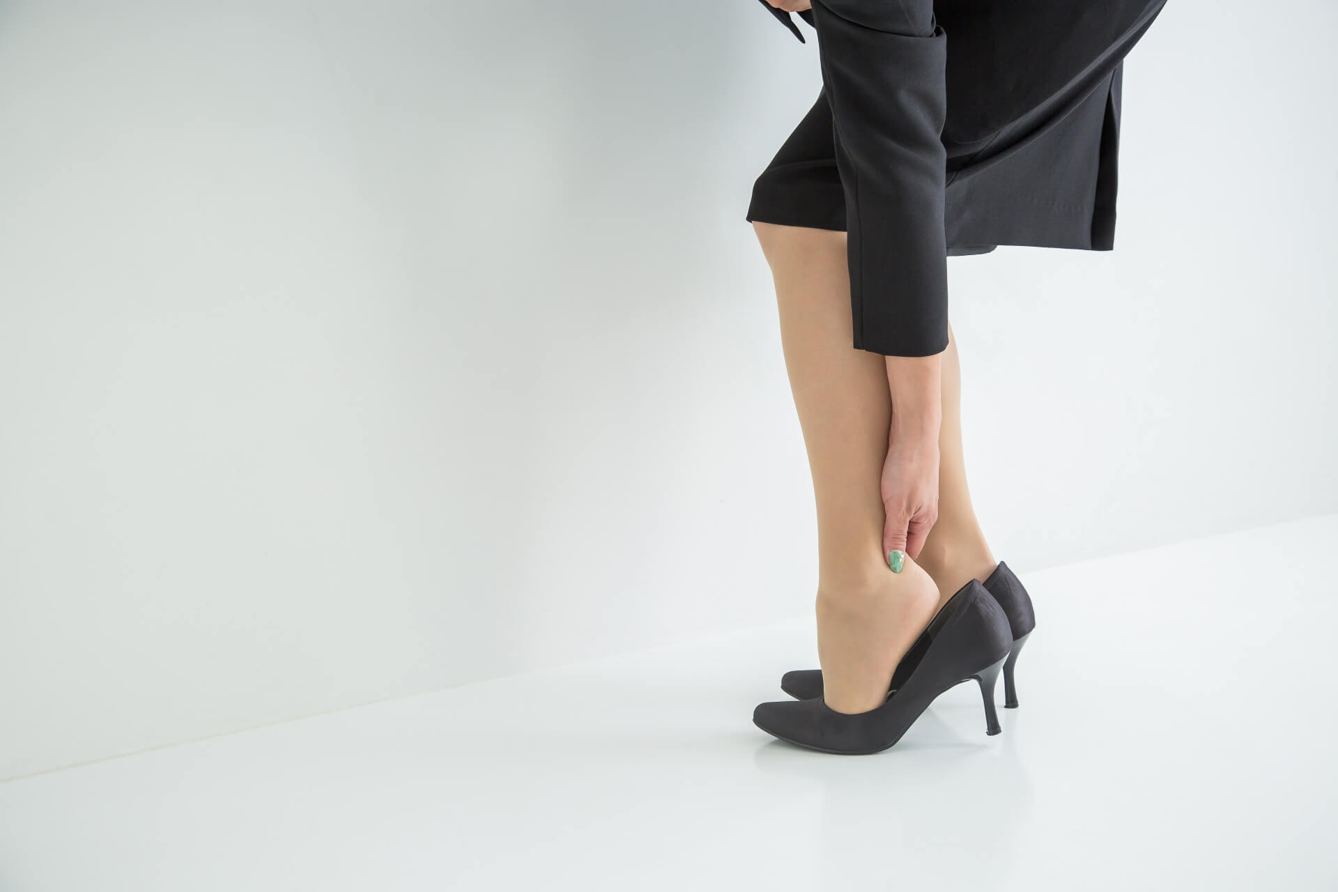 靴が合わなくて足が痛い