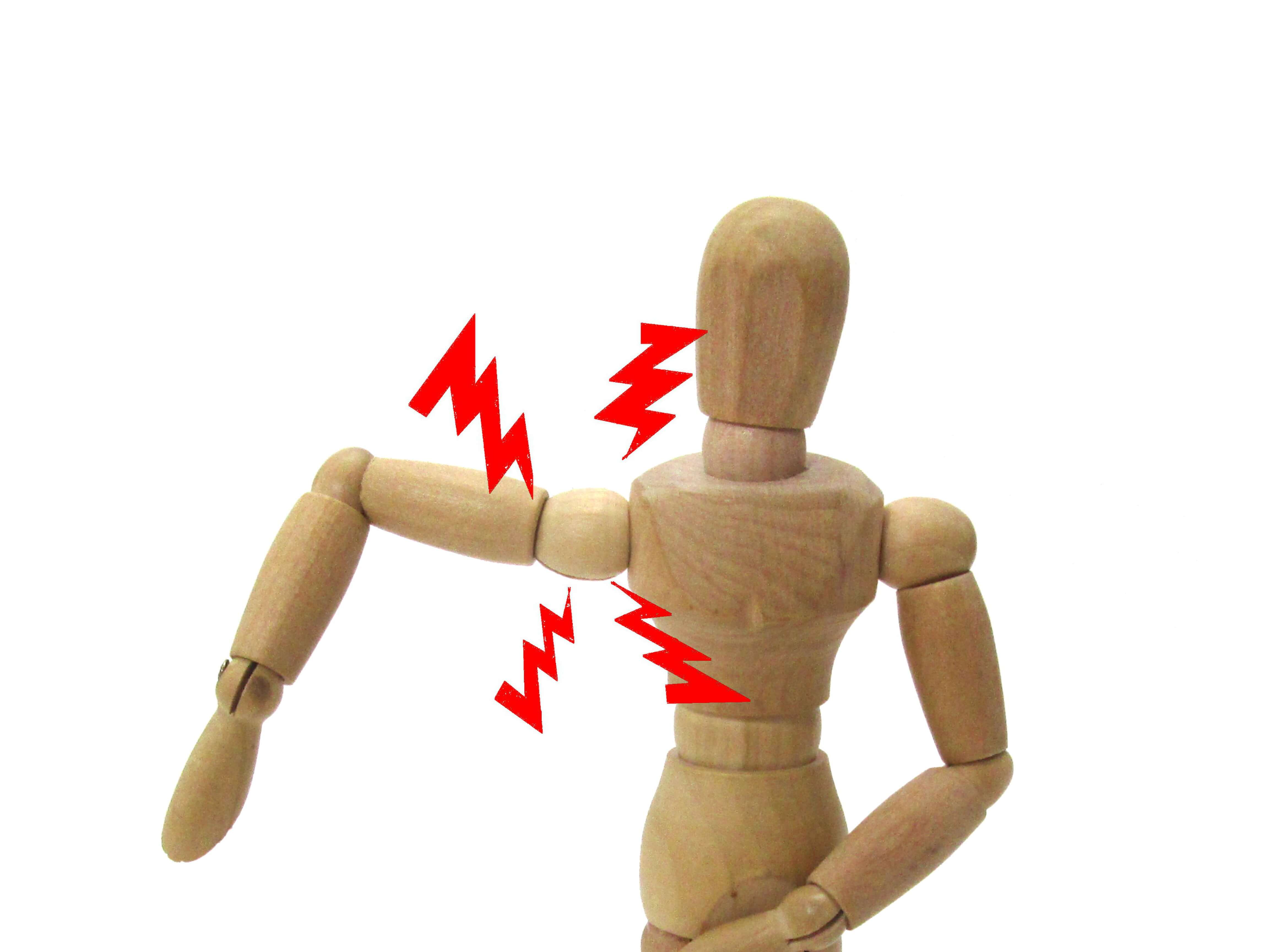五十肩の痛みのイメージ